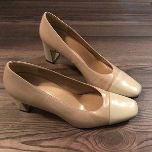 Bandolino Colorblock Heels Size 7